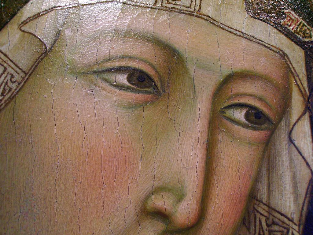 (Detail of painting by Ugolino di Nero in Certaldo's sacred art museum, photo Lisabelle)
