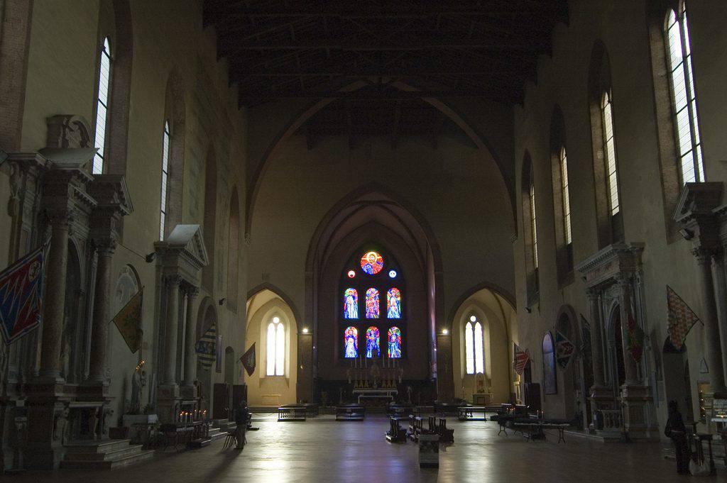 Interior of the Basilica of San Domenico in Siena (photo: wikipedia)