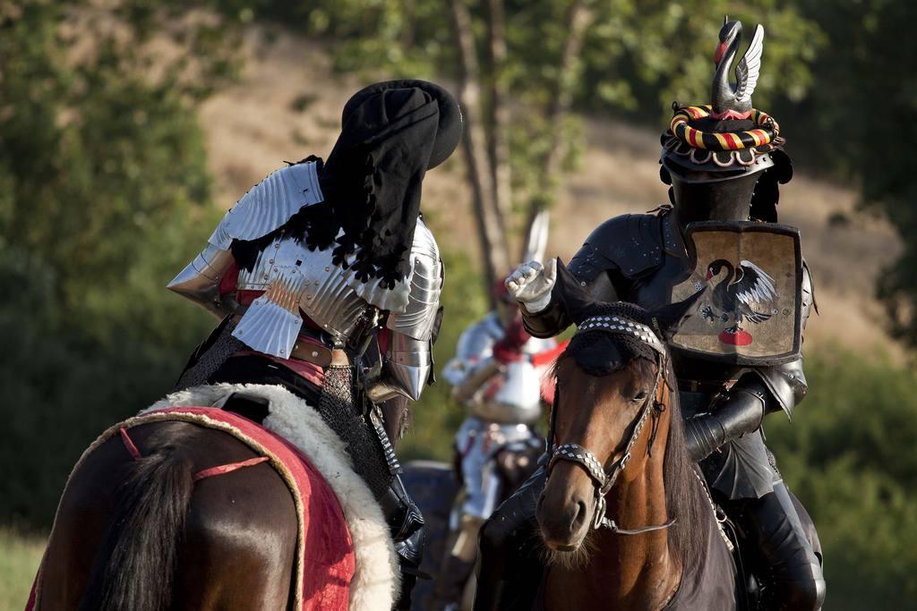 """Monteriggioni's medieval festival \ Photo flickr user @marco """"Il Pensatore"""""""