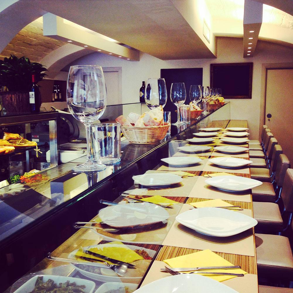 Zeb restaurant in Florence, Tuscany