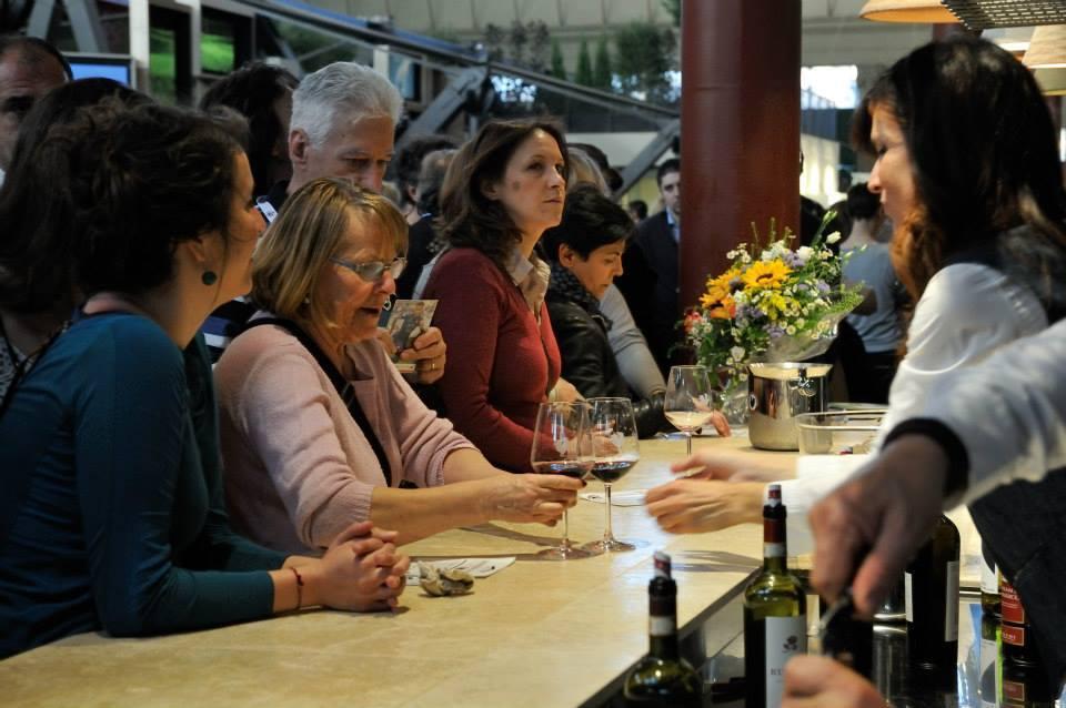 Chianti Classico wine bar in Mercato Centrale at the grand opening in 2014