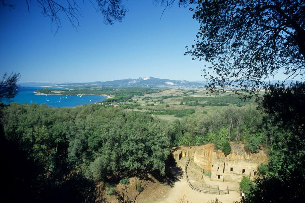 Necropoli delle Grotte and the Bay of Baratti | Photo Credit Holger Hill