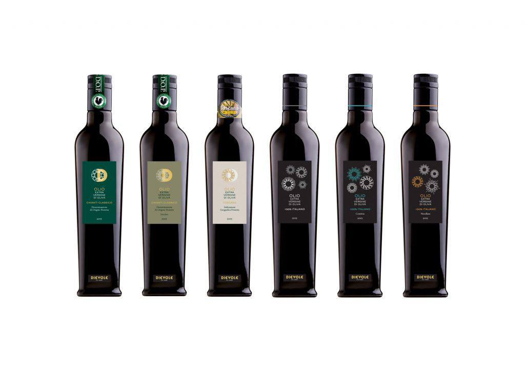 Dievole olive oil range