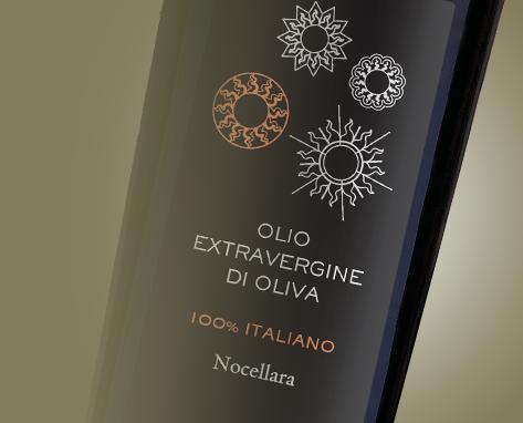 100% Italiano  Monocultivar Nocellara Natives Olivenöl Extra
