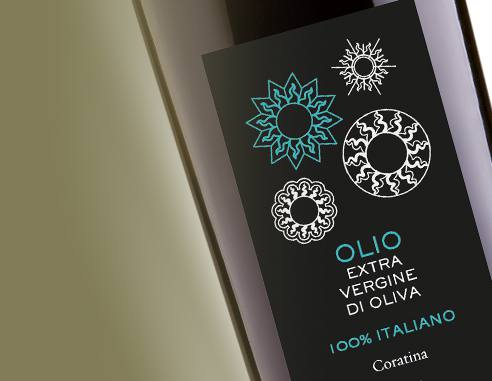 100% Italiano  Monocultivar Coratina  Extra Virgin Olive Oil