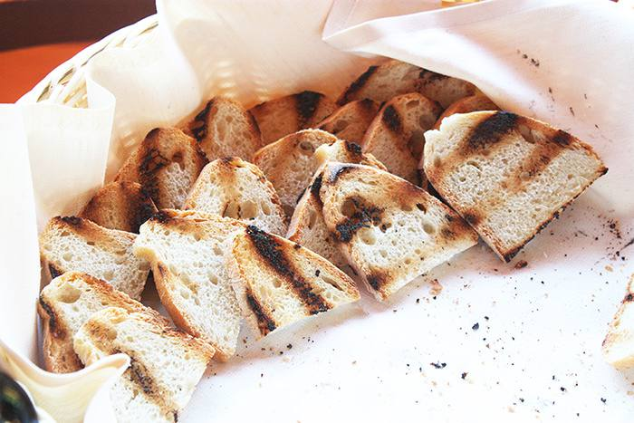 Toasted Tuscan Bread