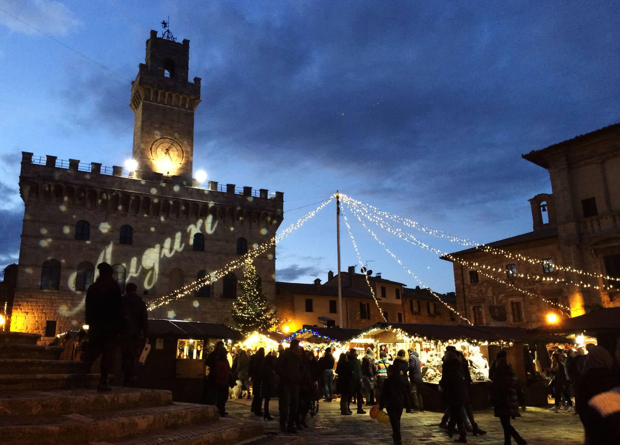 Christmas Market in Montepulciano