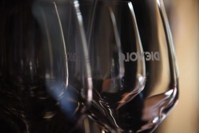 These are the glasses we use to serve Chianti Classico reds
