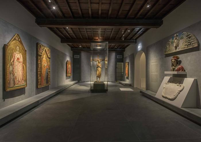 The serene Mary Magdalen by Donatello in her own room at the new museum | Photo Antonio Quattrone
