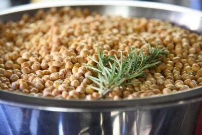 Chickpeas are a Tuscan favorite and a great source of fiber and protein.