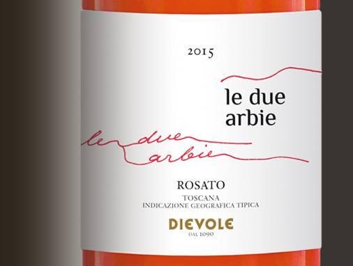 Rosato Le Due Arbie IGT Toscana 2015