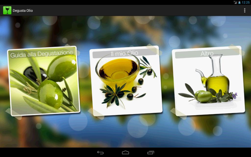 Degusta Olio olive oil app