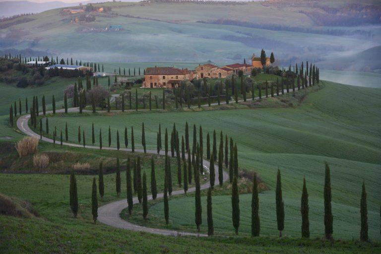 Fotografare i paesaggi senesi, i consigli di Antonio Cinotti