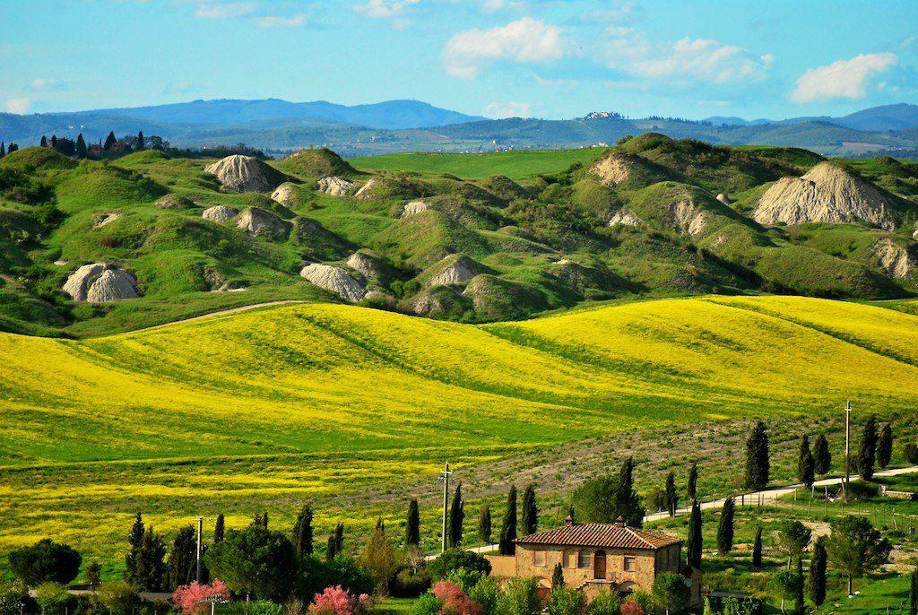 Antonio Cinotti: Crete Senesi near Montalcino
