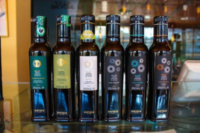The complete line of Dievole extra virgin olive oil!