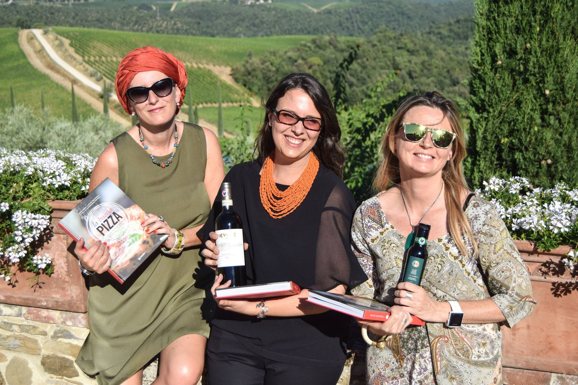 "The authors of ""La Buona Pizza"" at Dievole... we hope to see them at Dievole again next Summer!"