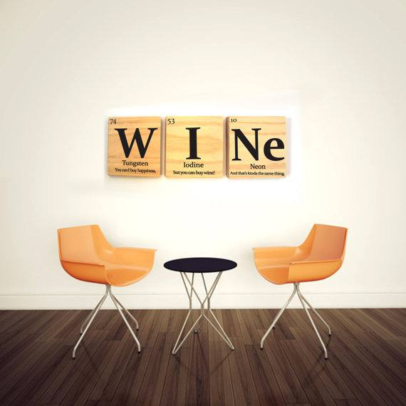 Wine wall decor Original wine gifts