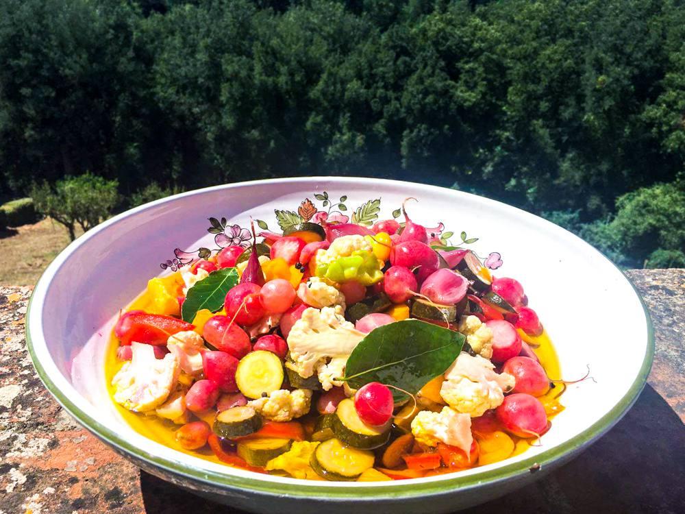 preserve summer vegetables