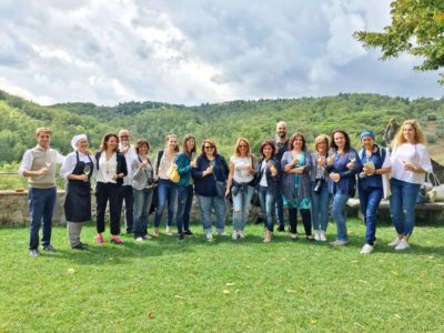Italian food bloggers tasted and loved Dievole