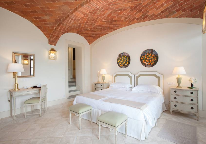 The deluxe room of our Villa Limonaia. Doesn't it look inviting?