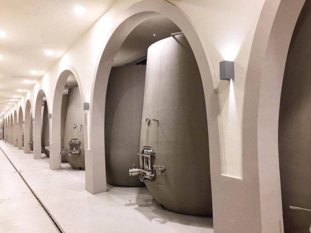 Our future Chianti Classico is resting in our cellar...