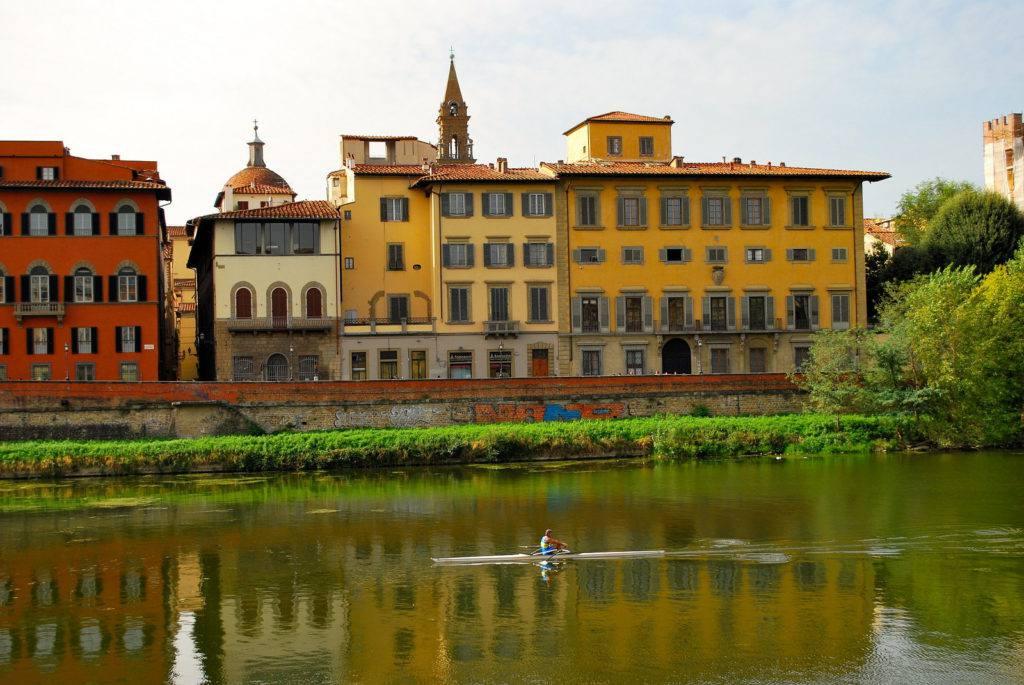 View of the Arno River   Photo Antonio Cinotti via Flickr