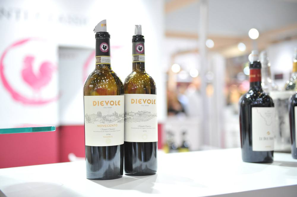 Our Chianti Classico wine at Prowein 2017