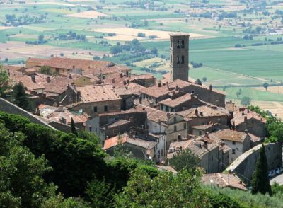 The beautiful Tuscan hill towns: our Top-5 in the Val di Chiana