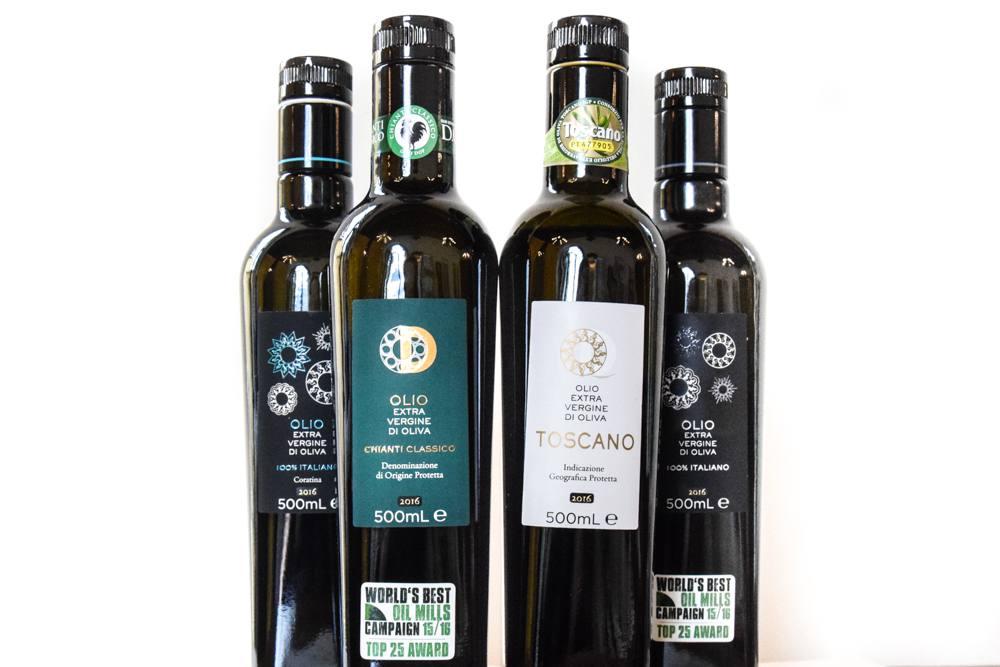 Dievole's best olive oils of 2016
