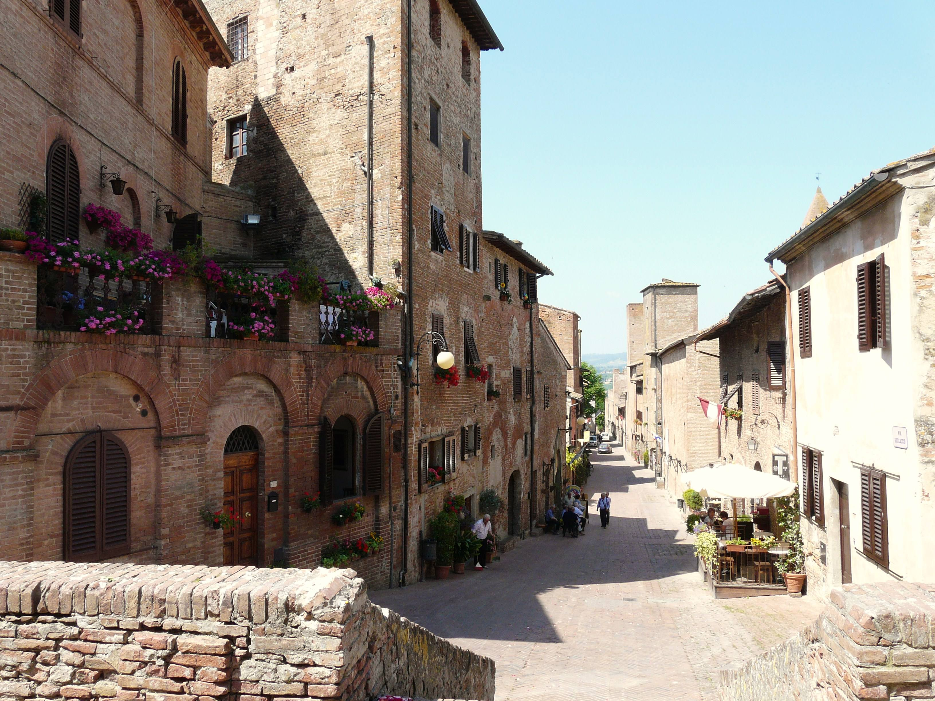 Falling in love in Tuscany, good places to go on holiday in Autumn