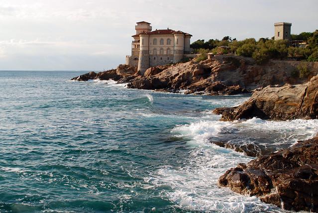 Castello del Boccale, Calafuria - Tuscan Coast