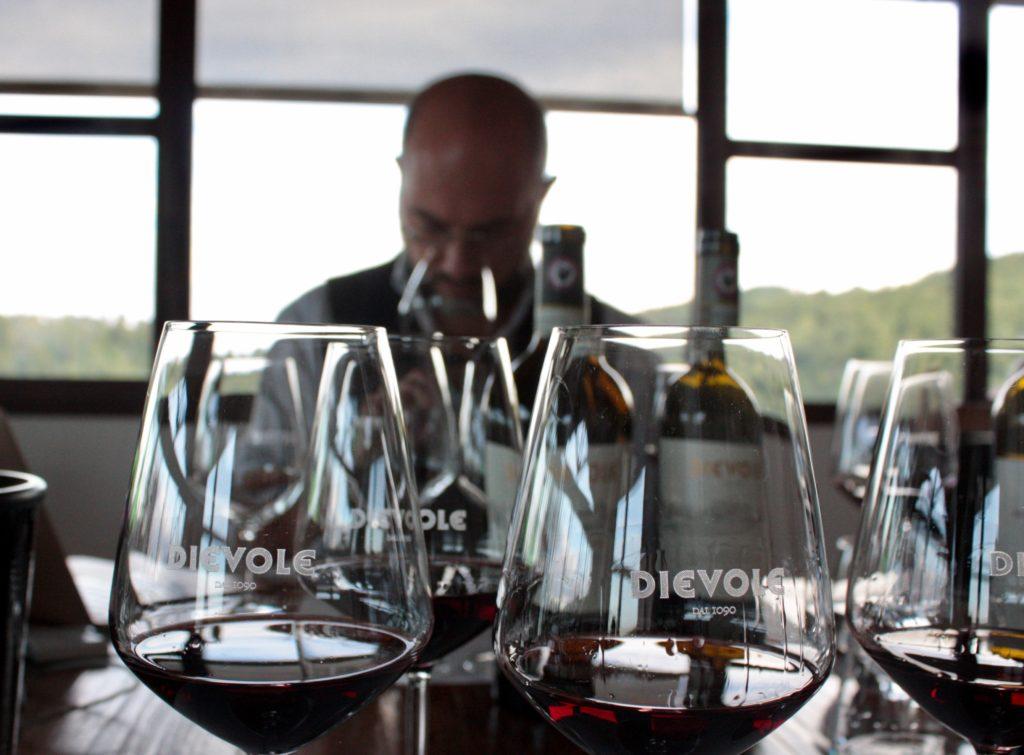 Filippo Bartolotta ha provato tutti i vini di Dievole