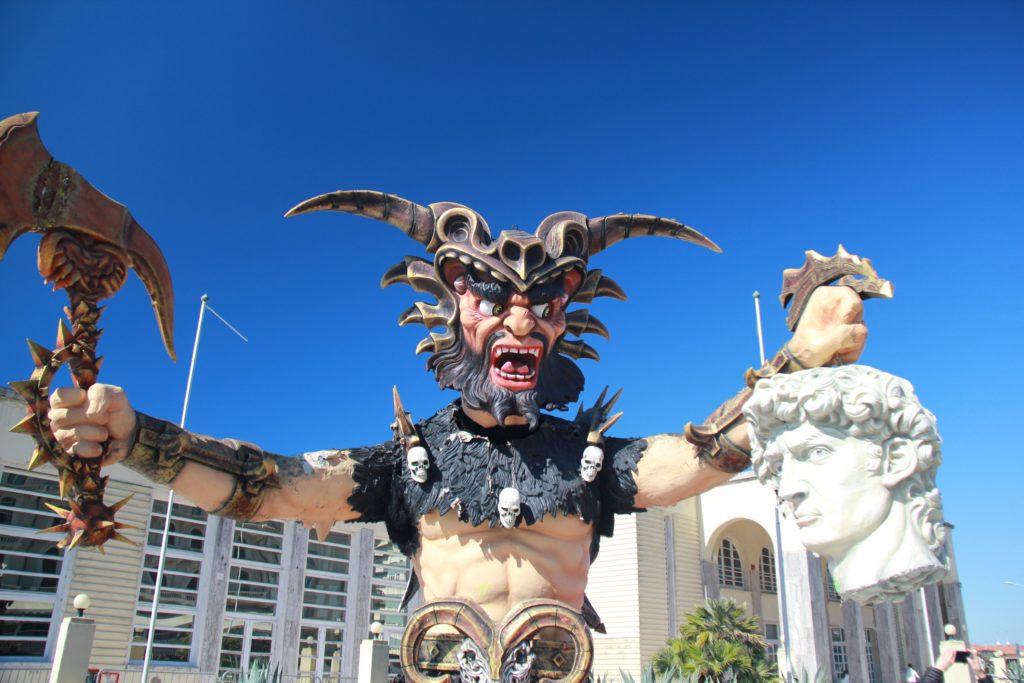 Carnival in Viareggio