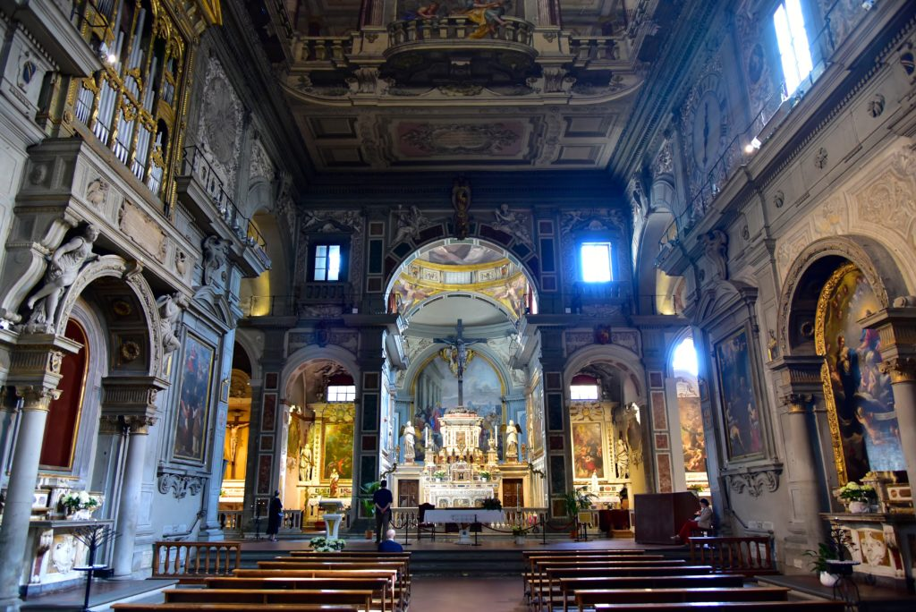Santa Trinita -Churches in Florence