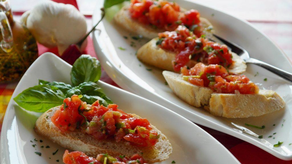 Bruschetta - Misconceptions about Italian food