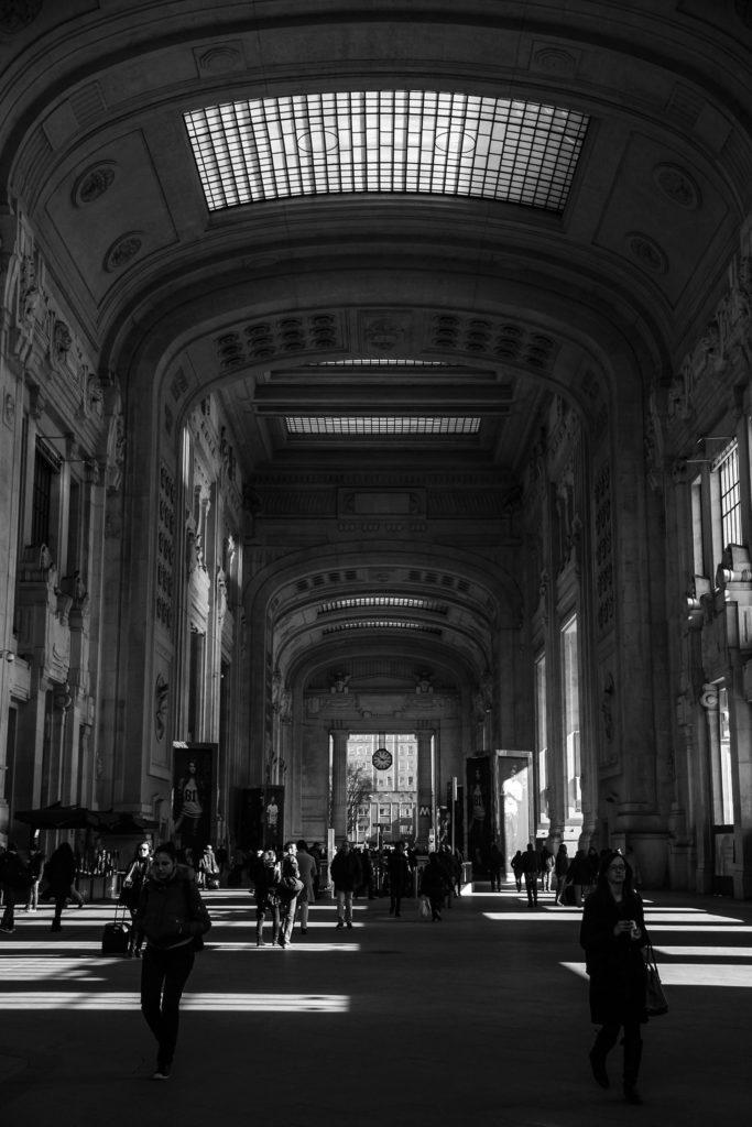 Milan train station - Train Travel in Italy